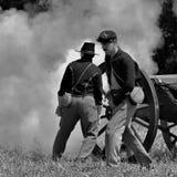 Gettysburg Battlefield Reenactment royalty free stock photography