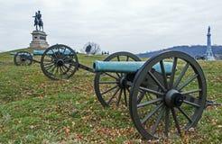 Gettysburg Battlfield в Пенсильвании, Соединенных Штатах Стоковые Фотографии RF