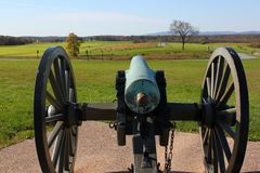 Gettysburg cannon Royalty Free Stock Photography