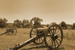 Gettysburg cannons Stock Photography