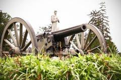 Gettysburg Canon Arkivfoton