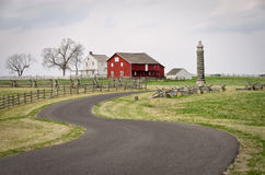 Gettysburg Farm Buildings Royalty Free Stock Images