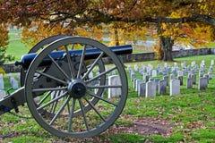 Gettysburg im Herbst Stockbild