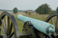 Gettysburg kanon Arkivbild