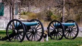 Gettysburg-Kanonen Lizenzfreie Stockfotos