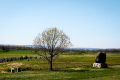 Gettysburg-Landschaft Lizenzfreies Stockbild