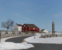 Gettysburg lantgård royaltyfri bild