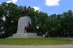 Gettysburg Monument Stock Photography