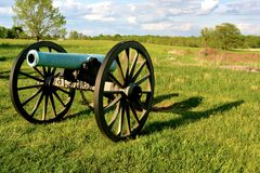 Gettysburg Nationaal Militair Park - 020 Stock Foto's