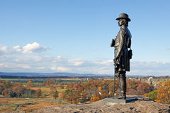 Gettysburg National Military Park Stock Photography