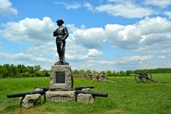 Gettysburg National Military Park   - 216 Royalty Free Stock Photo