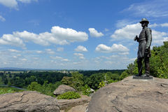 Gettysburg national military park Stock Photo