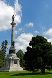 Gettysburg national military park. Cemetery stock images