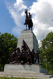 Gettysburg national military park. Monument Stock Photography