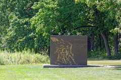 Gettysburg national military park. Monument Royalty Free Stock Photos