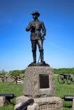 Gettysburg nationalpark Major General John Buford Memorial Arkivfoton