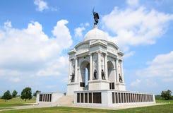 Gettysburg nationell militär Park Royaltyfria Bilder