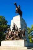 Gettysburg nationell militär Park Arkivbilder