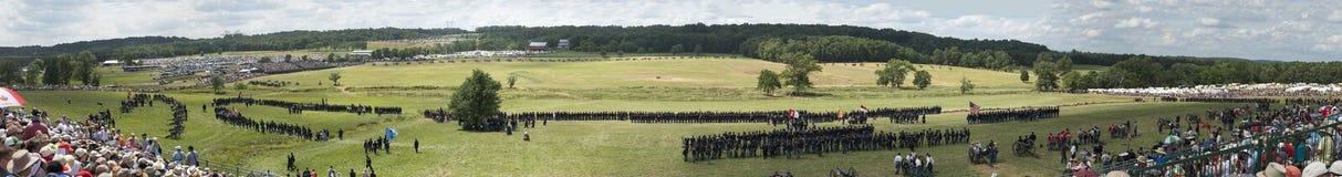 Gettysburg Panoramiczny Obrazy Stock