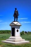 Gettysburg parka narodowego Abner Doubleday pomnik Obraz Stock