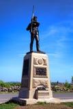 Gettysburg parka narodowego Pennsylwania piechoty 11th pomnik Obraz Royalty Free