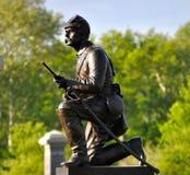 Gettysburg parkerar den nationella militären - 021 Arkivbild