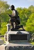 Gettysburg parkerar den nationella militären - 021 Royaltyfri Bild
