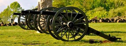 Gettysburg parkerar den nationella militären - 019 Royaltyfri Fotografi