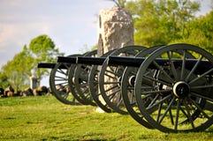 Gettysburg parkerar den nationella militären - 018 Arkivbilder