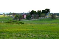 Gettysburg parkerar den nationella militären - 001 Royaltyfri Fotografi