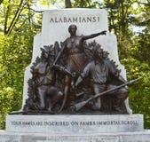 Gettysburg parkerar den nationella militären - 109 Arkivbild
