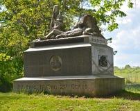 Gettysburg parkerar den nationella militären - 083 Royaltyfria Bilder
