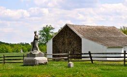 Gettysburg parkerar den nationella militären - 174 Arkivbilder