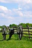 Gettysburg parkerar den nationella militären - 164 Arkivbild