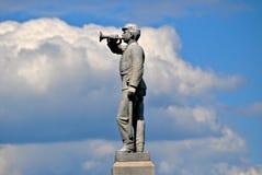 Gettysburg parkerar den nationella militären - 136 Royaltyfri Foto