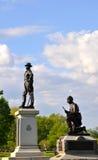 Gettysburg parkerar den nationella militären - 029 Royaltyfri Foto