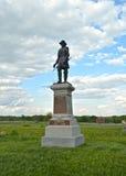 Gettysburg parkerar den nationella militären - 028 Arkivbild