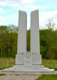 Gettysburg parkerar den nationella militären - 052 Arkivfoto
