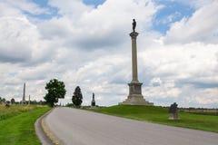 Gettysburg Pennsylvania Arkivbild