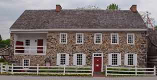 GETTYSBURG, PENNSYLVANIA 5-15-2018 The Dobbin House. On Steinwerhr Avenue originally built in 1776 stock photo