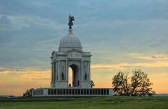 Gettysburg Pennsylvania Monument Stock Photos