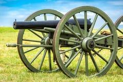Gettysburg slagfältkanon Arkivfoto