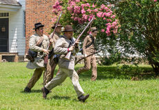 Gettysburg stridReenactment Arkivbild