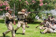 Gettysburg stridReenactment Royaltyfria Foton