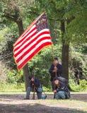 Gettysburg stridReenactment Royaltyfri Foto