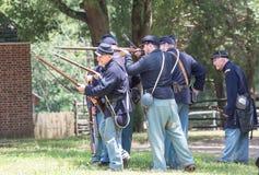 Gettysburg stridReenactment Royaltyfri Bild