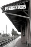 Gettysburg Train Station Stock Image