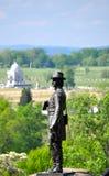 Gettysburg wojskowego Krajowy park - 084 Zdjęcie Stock