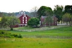 Gettysburg wojskowego Krajowy park - 002 Zdjęcia Royalty Free