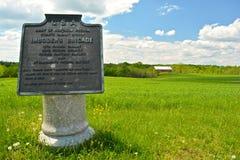 Gettysburg wojskowego Krajowy park - 267 Zdjęcie Royalty Free